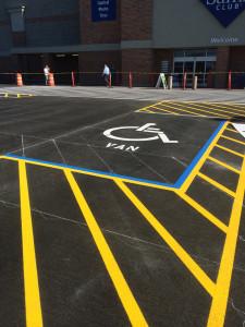 Parking Lot - Sams Club - Riverdale UT